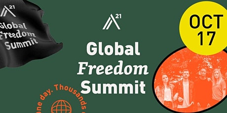 A21 Global Summit Eastampton and Walk For Freedom tickets