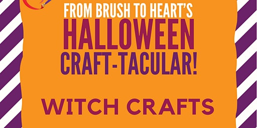 Halloween Craft-Tacular: Witch Crafts
