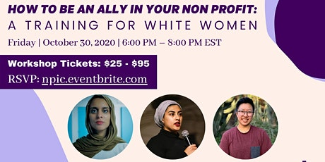 How to be an ally at your non-profit: a training for white women tickets