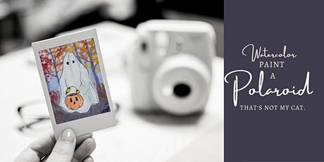 Paint a Polaroid: Boo! tickets