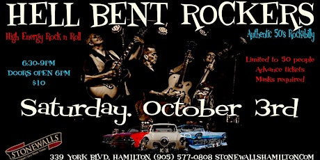 Hell Bent Rockers LIVE at Stonewalls tickets