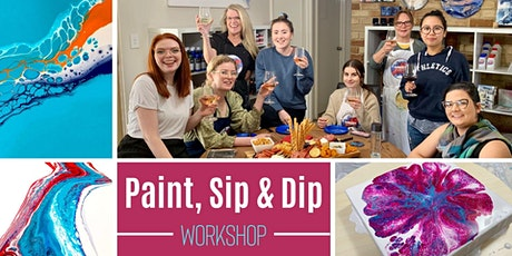 """""""Acrylic Pouring"""" Workshop tickets"""