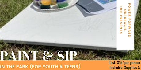 Paint & Sip In the Park (For Youth & Teens) tickets