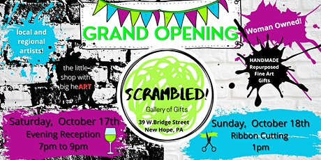 SCRAMBLED! Gallery of Gifts GRAND OPENING! tickets