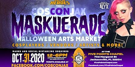 CosCon MASKUERADE Halloween Arts Market tickets