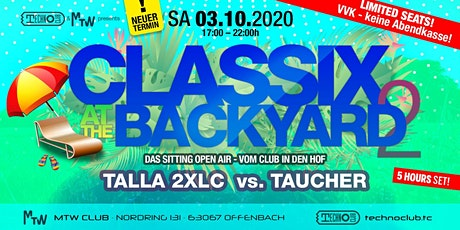 Classix at the backyard Tickets