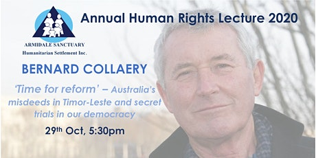 Annual Human Rights Lecture 2020 tickets