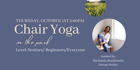 Chair Yoga in the Park tickets