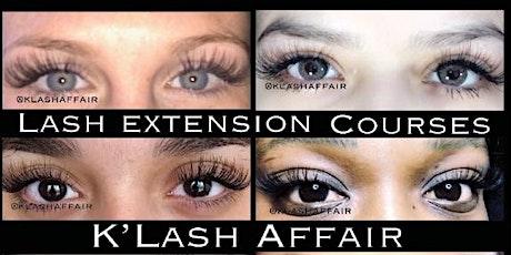 Shreveport Eyelash Extension Course tickets