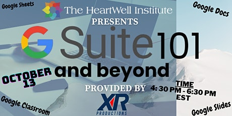 G SUITE 101 and beyond tickets