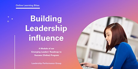 Building Leadership Influence (Online - Run 8) tickets