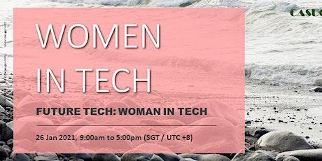 Future Tech: Women in Tech 2021 tickets
