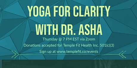 Yoga for Clarity tickets