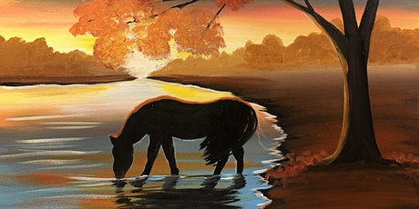 Banff Paint night autumn horse tickets