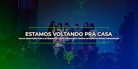 Reabertura Comunidade Adventista Vila Olimpia ingressos