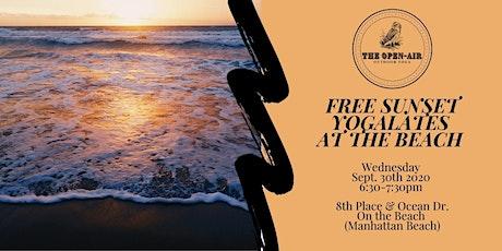 Free Sunset Yogalates at the Beach | Wed. 9/30 6:30PM | Manhattan Beach tickets