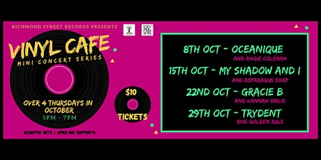 Vinyl Cafe Mini Concert Series tickets