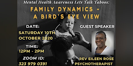 Mental Health Awareness - Let's Talk Taboo's tickets