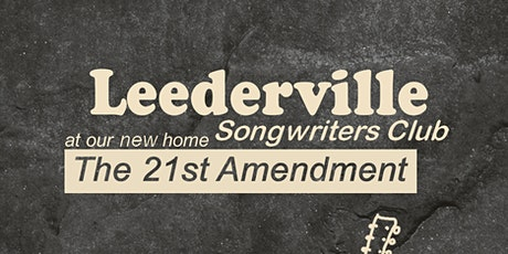Leederville Songwriters Club tickets