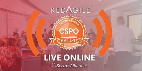 LIVE ONLINE | 20-21 OCT  Scrum Product Owner (CSPO) Certification|AUSTRALIA tickets