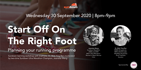 Start Off On The Right Foot: Planning Your Running Programme tickets