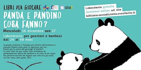 Libri per giocare > Panda e Pandino cosa fanno? (24-48 mesi) biglietti