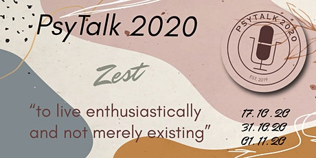"Main Event ""Zest"" Psytalk 2020 tickets"