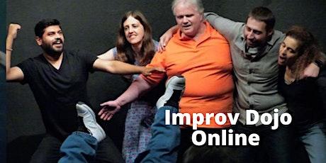 Improv Dojo - Online tickets