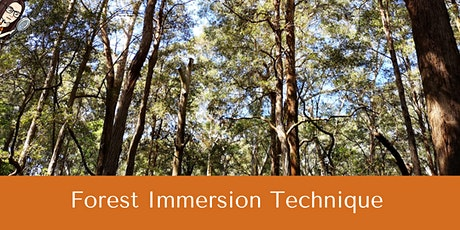 Forest Immersion Technique (F.I.T) tickets