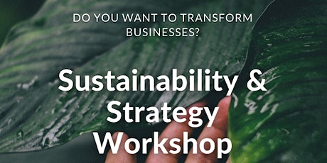 Sustainability & Strategy Workshop tickets