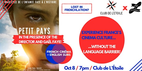 """Movie Night: """"Petit Pays"""" w/ the director and Gaël Faye! tickets"""