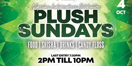 Plush Sundays - Nigerian Independence Special tickets