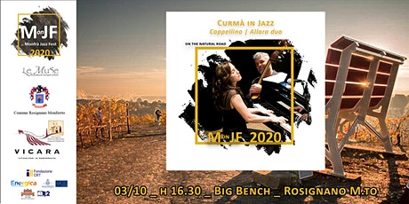 Curmà in Jazz _ Big Bench: Cappellino Allara duo biglietti