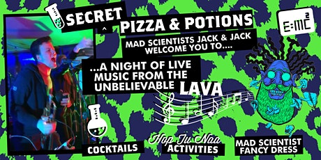Secret Pizza & Potions (Saturday 31st) tickets
