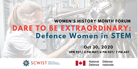 DARE TO BE EXTRAORDINARY: Defence Women in STEM