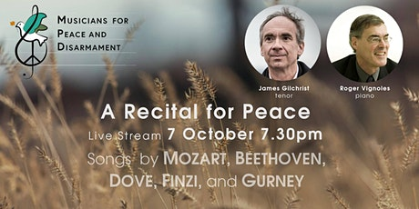 MPD A Recital for Peace: JAMES GILCHRIST and ROGER VIGNOLES tickets