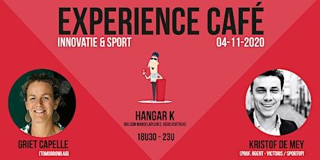 Experience café : Innovatie & sport tickets