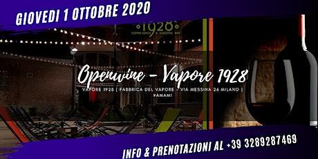 OPENWINE - FABBRICA DEL VAPORE - New Urban Garden biglietti