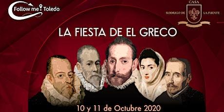 """LA FIESTA DE """"EL GRECO"""" 11 de OCTUBRE - Casa Rodrigo de la Fuente entradas"""