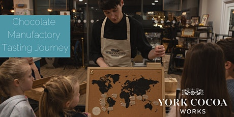 York Cocoa Works Chocolate Manufactory Tasting Journey - September tickets