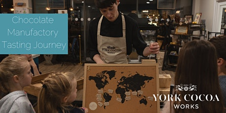 York Cocoa Works Chocolate Manufactory Tasting Journey - October tickets