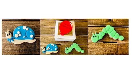 Cake Decorating Skills - Animal cookies tickets