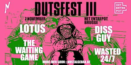 Dutsfest III tickets