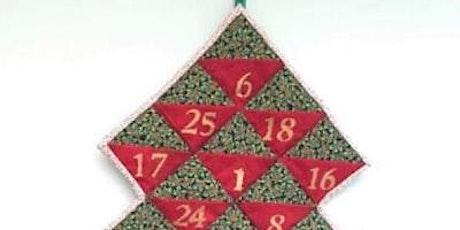 Make a Quilted Advent Calendar tickets