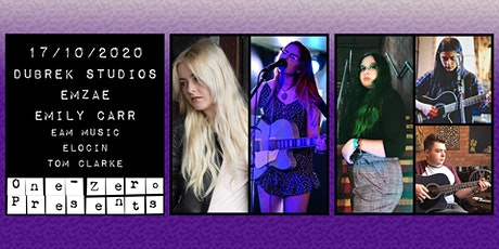 Emzae, Emily Carr, Eam, Elocin + Tom Clarke Live at Dubrek Studios tickets