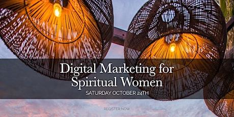 Digital Marketing for Spiritual Women: Branding, Social Media, SEO tickets