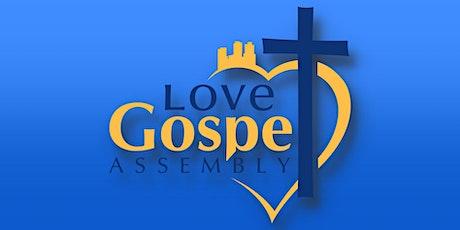 Love Gospel Assembly's Sunday Service tickets