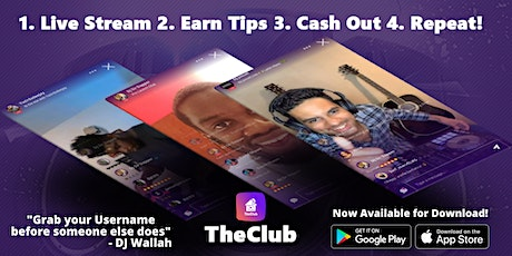 TheClub App Launch Event tickets