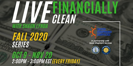 LIVE Financially CLEAN - Fall 2020 Class tickets