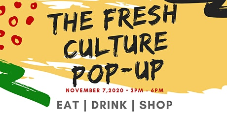 The Fresh Culture Pop-Up tickets